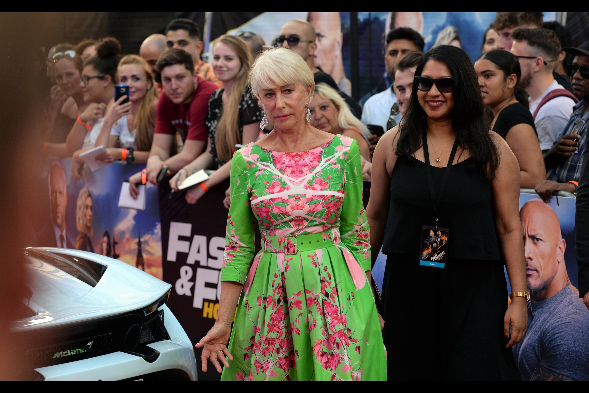 """""""Excellent… Statham's already here. Time to get him to pay up for all those on-set poker games he lost""""  Helen Mirren has won an Oscar, but perhaps more importantly (?) her Fast & Furious bona fides begin in the most recent film ( #8 at time of writing), where she's Jason Statham's mother."""