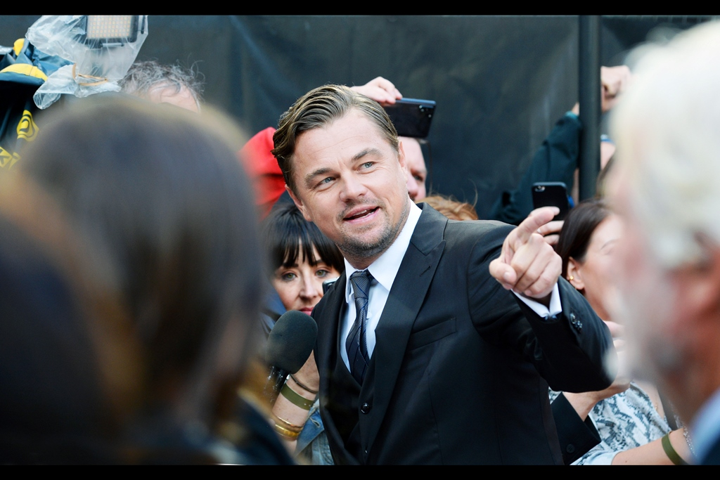 OMG It's Leonardo DiCaprio!!! (those exclamation marks are best accompanied by the tears of screaming teenage…. perhaps now twenty-something… potentially now even thirty- or forty-something… or even your aunt or grandma's age, female fans)