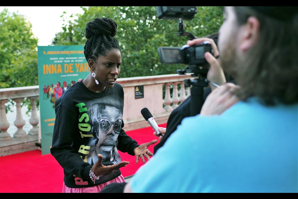 """""""Frankly, I think reggae has been laid back and casual for far too long. It's time it started setting fire to cars and punching random people in the face. Also please don't misquote me….""""  Jah9 is in this movie, and has two studio albums and    a youtube channel you should totally check out   ."""