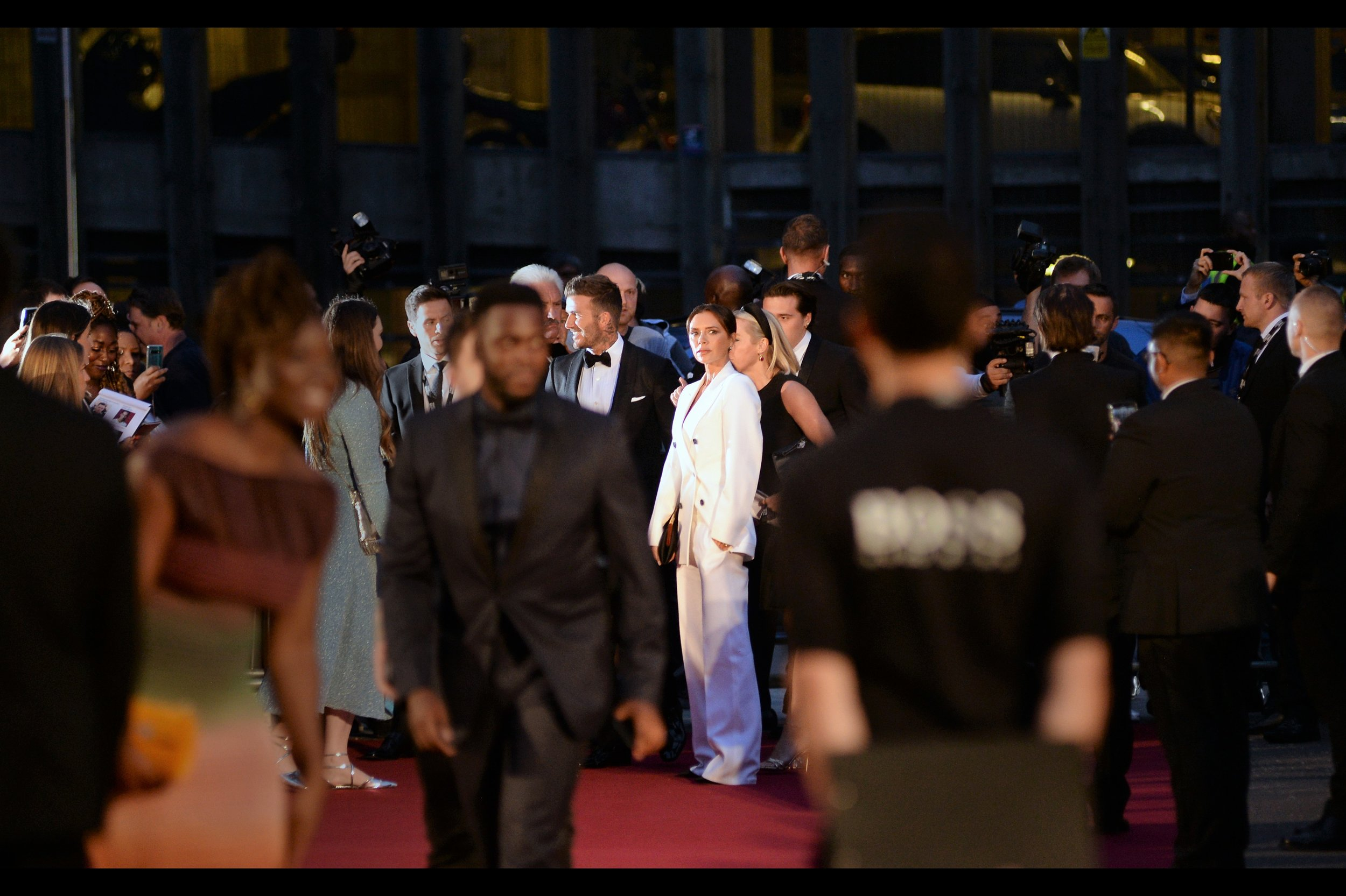 It's been almost nine months since Victoria Beckham and I shared a moment that still resonates through the ages, at    last year's Fashion Awards   . And I don't want to panic anyone… but we might be sharing another one…. we both want to destroy blurry boss t-shirt clipboard guy.