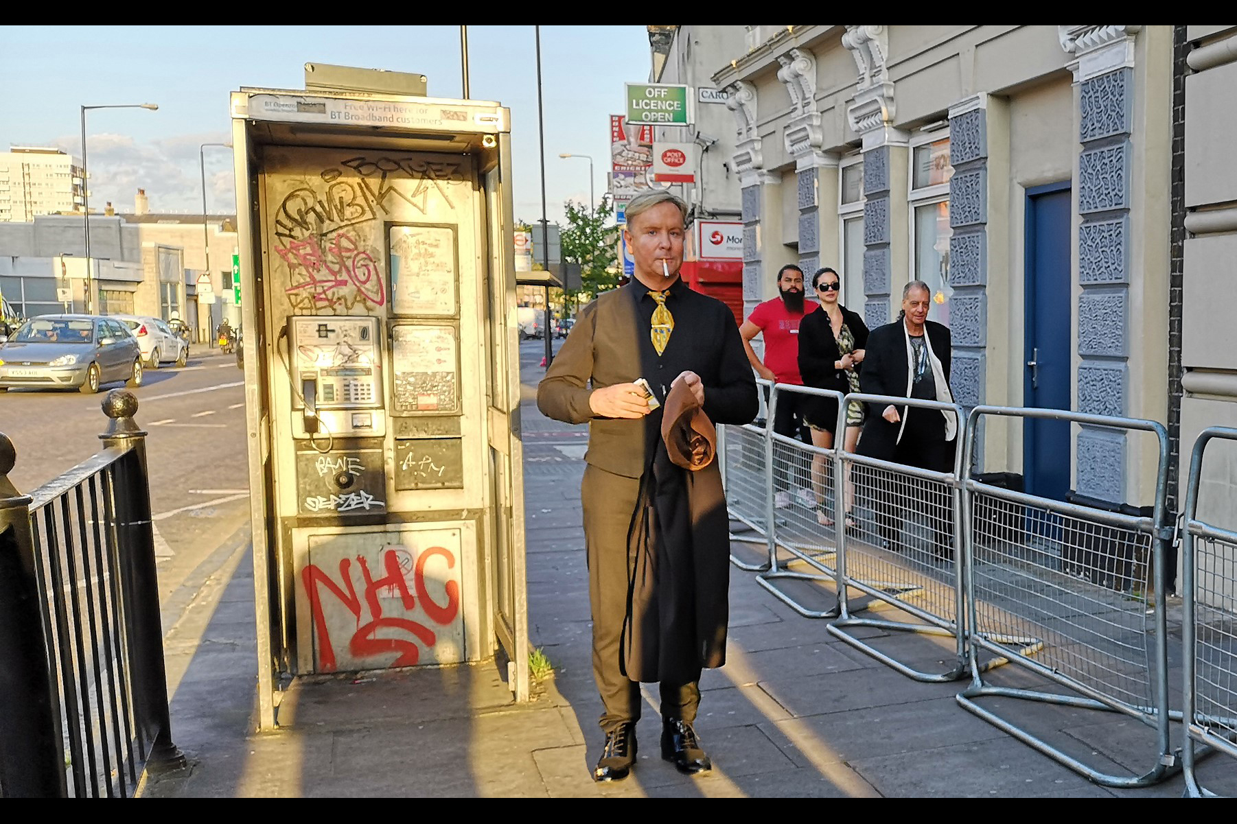 """Sigh. How I ended up outside the Troxy Cinema for yet another """"World"""" """"Premiere"""" is anyone's guess   . Fanatical!"""