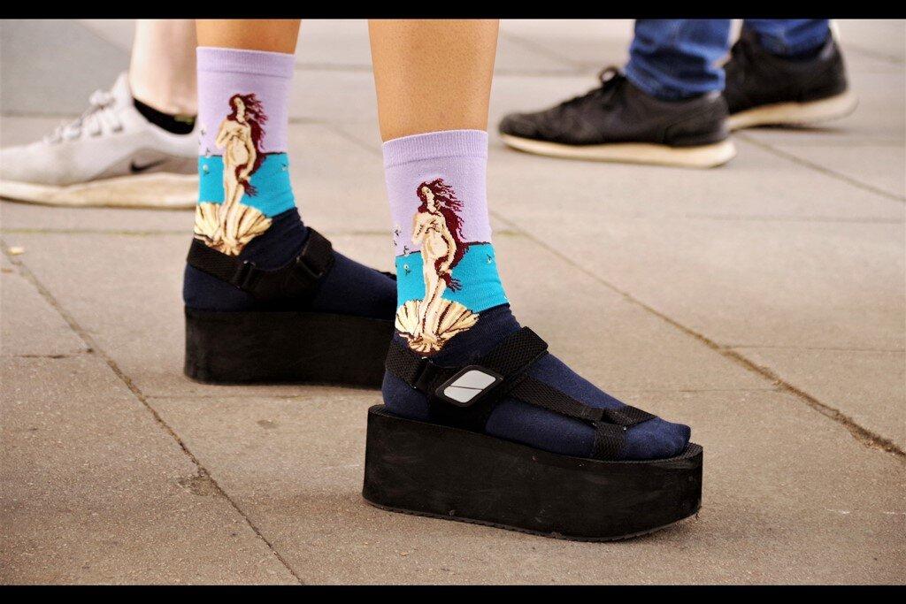 …and socks !