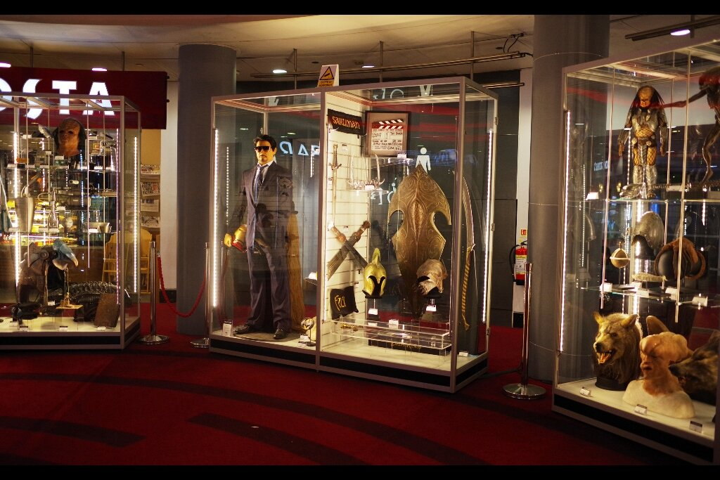 By not taking a closer look, I am able to maintain the belief that they've paid Robert Downey Jnr to stand inside that cabinet and model that Tony Stark Suit and Iron Man helmet.