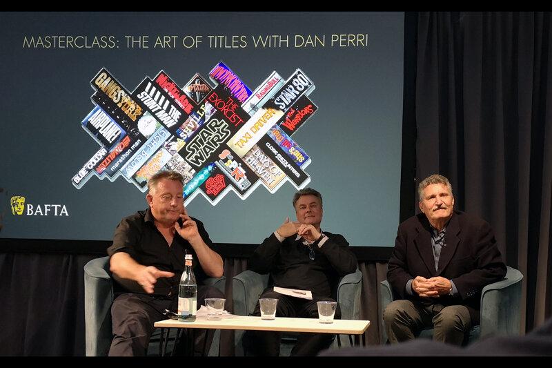 Dan Perri Bafta Event (he's the gentleman on the right)