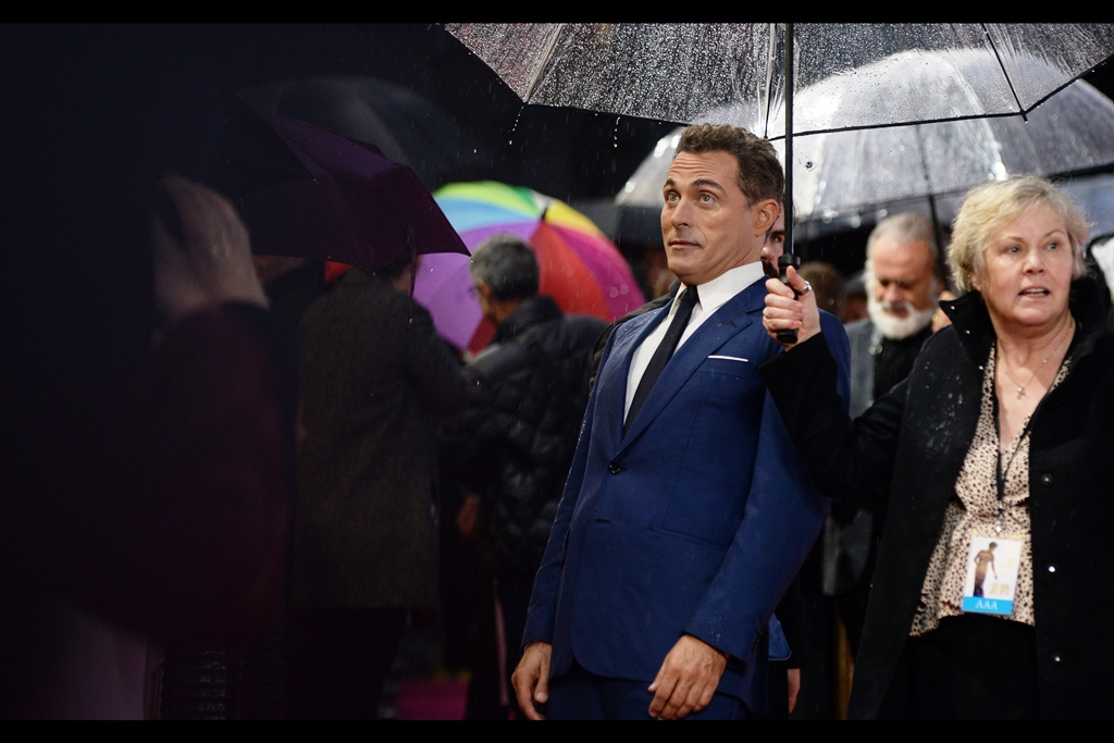 """""""Rain? In England? At this time of year? Unthinkable!!"""" . I'd say… inevitable. Rufus Sewell's imdb.com credits provide an interesting mix of TV (The Marvelous Mrs Maisel, The Man In The High Castle, Pillars of the Earth) and films (Dark City, The Illusionist, A Knight's Tale)"""
