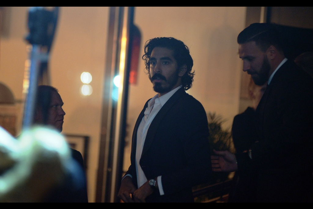 """But what if I GENUINELY feel like eating Taco Bell, and not whatever weird opulent fare they're serving up inside?""  - Dev Patel is set to attend tomorrow's BFI London Festival opening of 'The Personal History of David Copperfield', and was also at the prior    BFI LFF premiere for 'Lion'."
