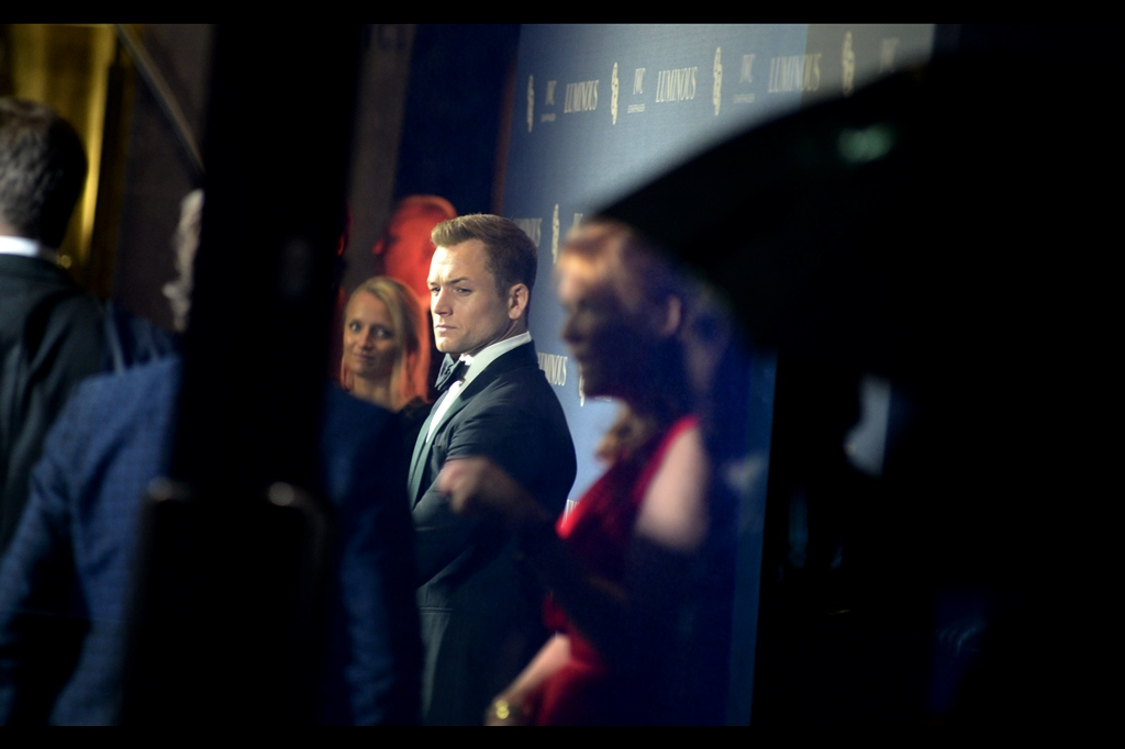 """Somebody somewhere is reading a lot more into the subtext of this event than I'm comfortable with"" - after significant difficulty in photographing him at such premiers as    Eddie the Eagle    (back in the day)    'Kingsman : The Golden Circle'    and    'Rocketman',    I'm actually doing fairly well here."
