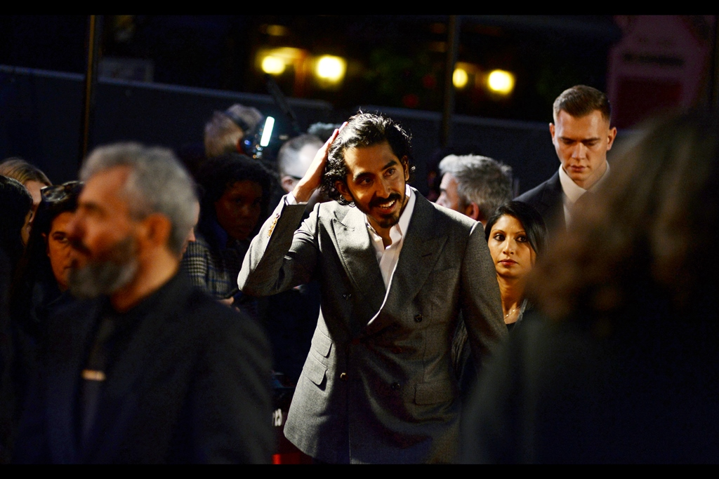 "Dev Patel plays the lead role of David Copperfield in the film - I photographed him at yesterday's torrentially 'intimate'    BFI Luminous event   … and also previously at the BFI LFF premiere of the excellent film    ""Lion""   ."
