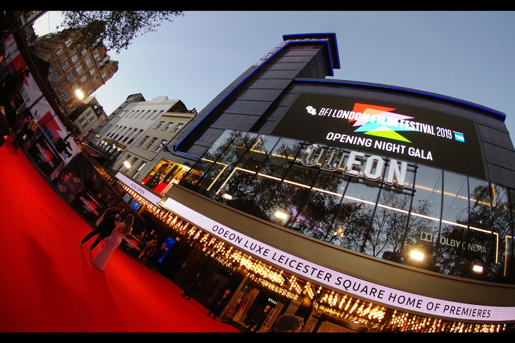 Dev Patel! Hugh Laurie! Gwendoline Christie! More importantly it's    BFI London Film Festival    opening night!