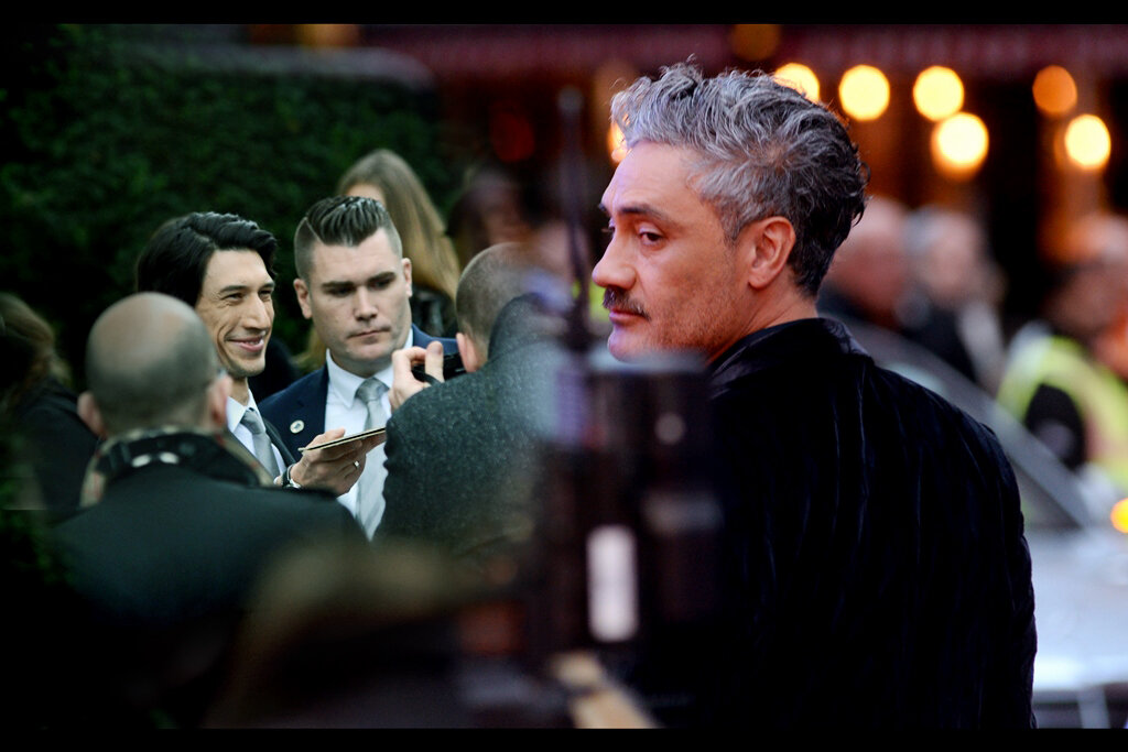 BFI LFF day 4 : with two premieres - Adam Driver (smiling?!?) for    'The Report'    and Taika Waititi for    'Jojo Rabbit'   .