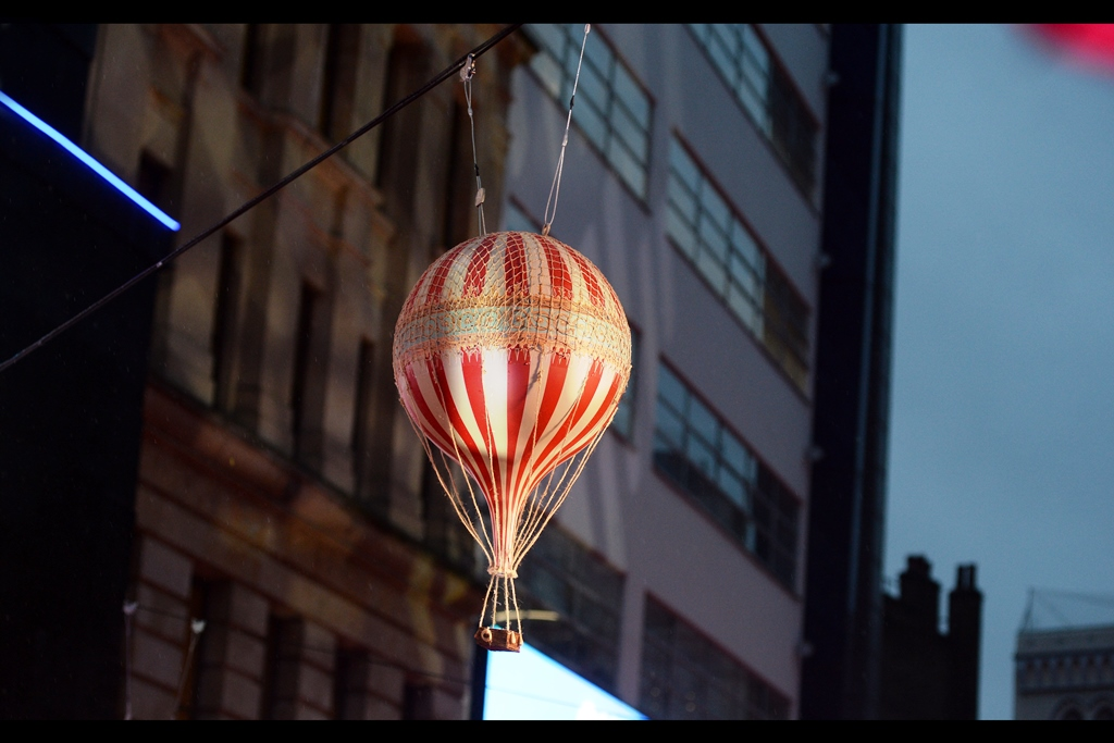 """""""We went to all the trouble of putting tiny animatronic aeronauts into these balloons, but nobody's noticed!"""""""