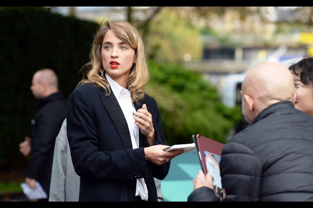 """""""I signed for him but he's hesitating in signing for me… what's going on here?""""  Adele Haenel is in this movie - and though I'm still not really a cinephile - I've ALSO seena movie she was in : """"Love at First Fight (2014)"""" - which was weird, but okay."""