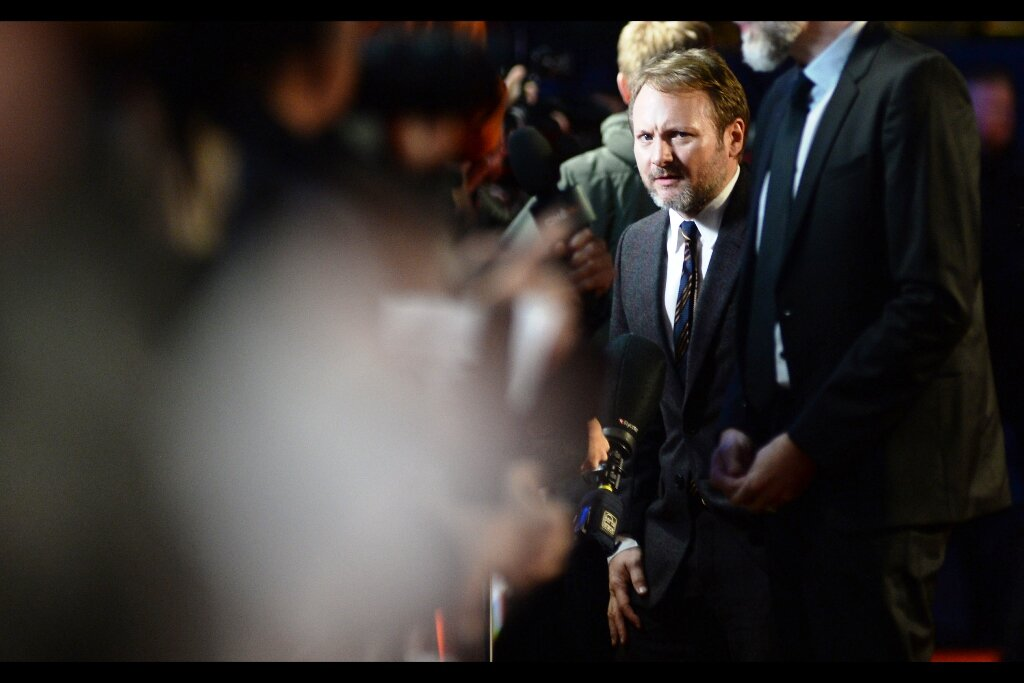 """""""Wait… they let HIM into the pen? WHY? And HOW? and….once again…. WHY??""""  I might be no TLJ fan, but I actually had a photo I took of Rian Johnson at the Empire Awards last year when it snowed, and left it back in the office, but rain in the afternoon meant I couldn't keep it dry so I left it. It would have been nice if he'd signed it…"""