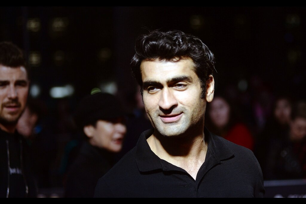 Random attendee spotted by an eagle-eyed fan in our pen… Kumail Nanjiani - writer and star of (for instance) the movie 'The Big Sick' and also a star of the TV series 'Silicon Valley' - one of about four or five TV Series I've watched this decade.