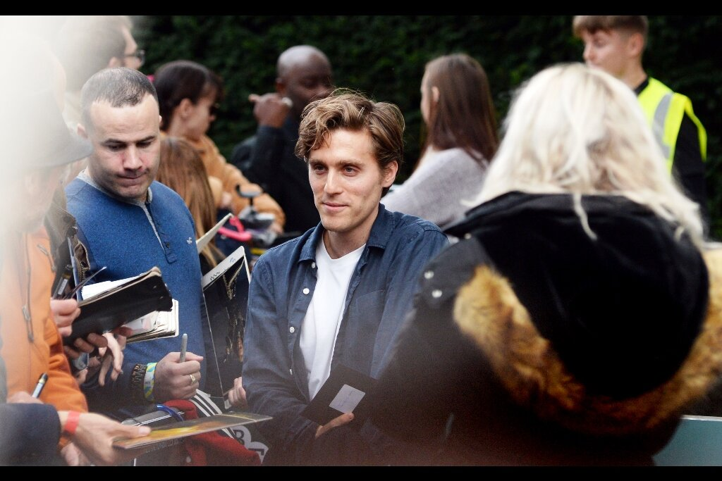 Jack Farthing is apparently best known for being a villain on (in?) the series 'Poldark' which I have not watched. He is also in this movie… which owing to it just being screened for the first time… I have also not watched.