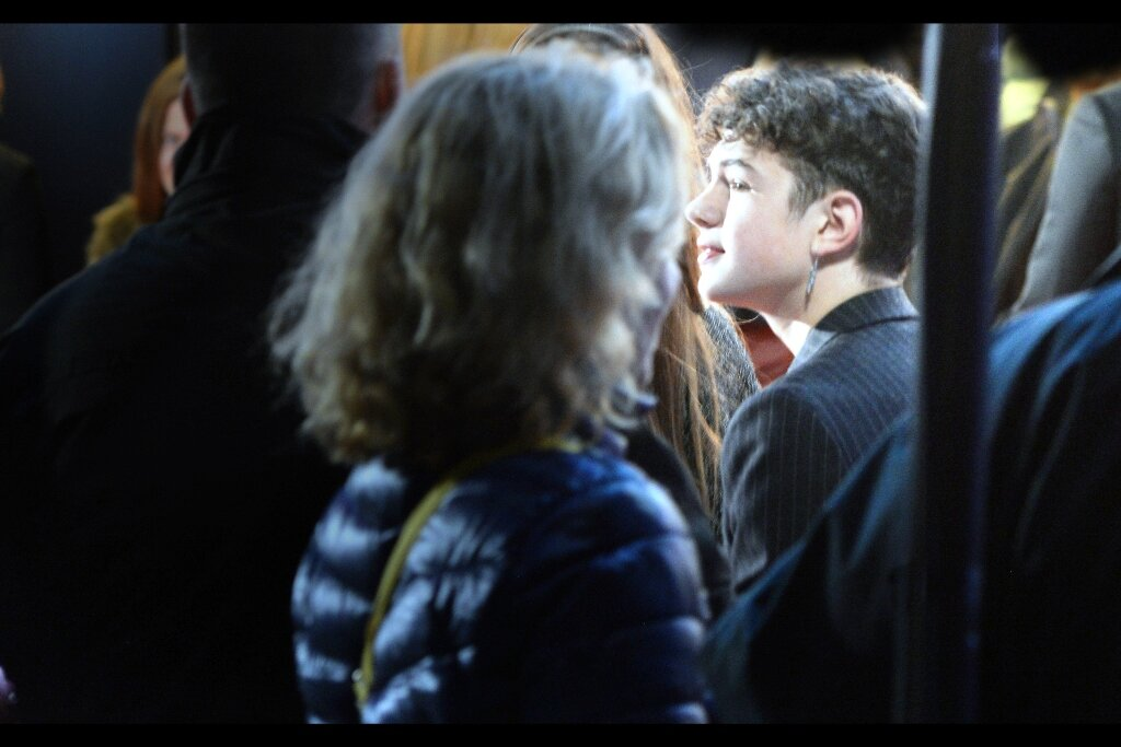 Noah Jupe is also in this movie, but in dozens of frames of concerted photography, I was never able to photograph him front on. Or confirm that his face has another side, come to think of it. He was, however, in the movie '   A Quiet Place   ', whose budget was relatively low that I doubt they'd have been able to generate an artificial second side to his face. It's probably safe to assume he has one. A second side to his face, I mean.