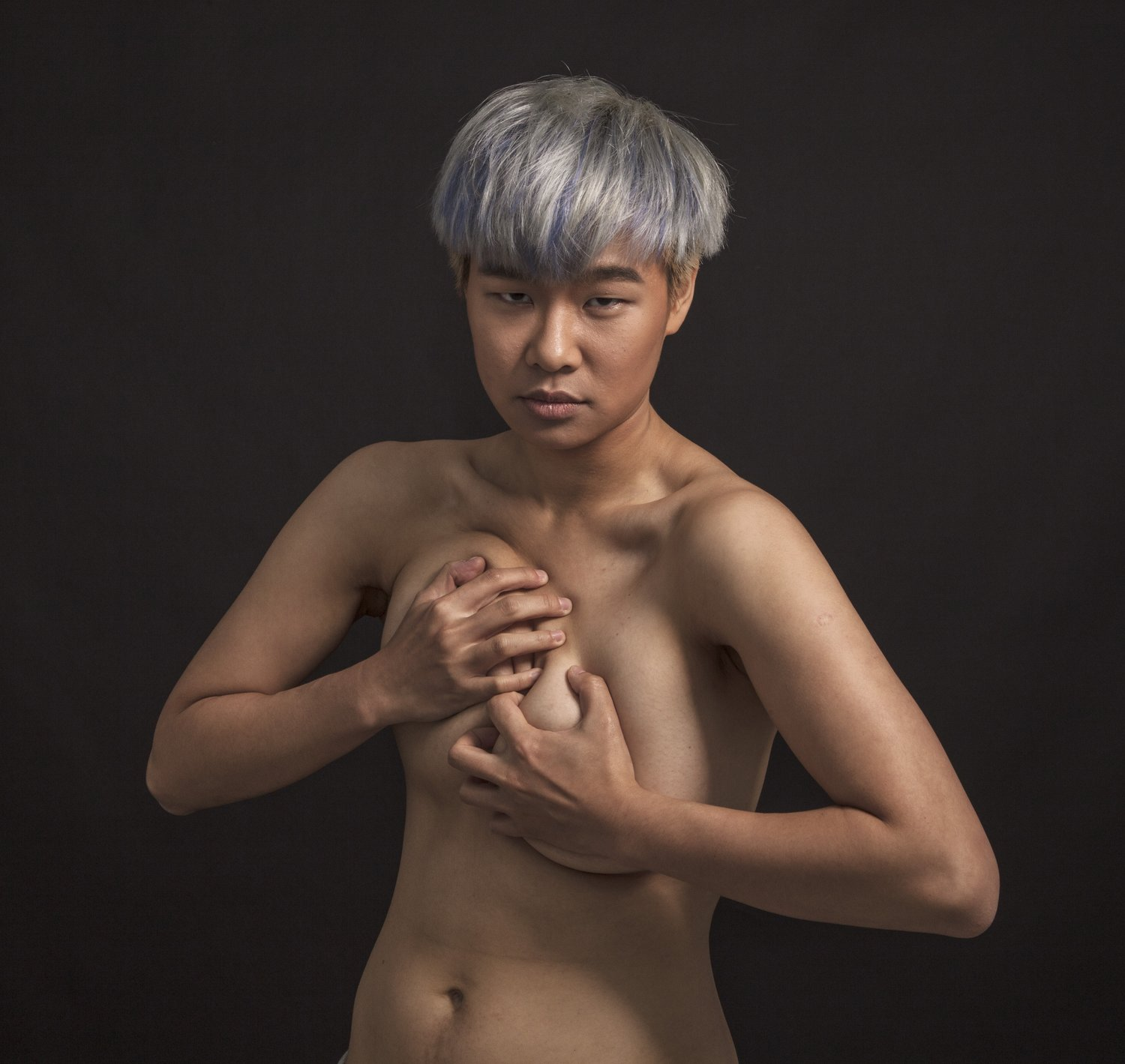 Wen Hsin, 'Half-Blue' 2013. Courtesy of Double Square Gallery