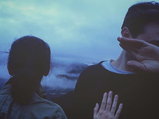 Bren and Annie in #topanga #mood