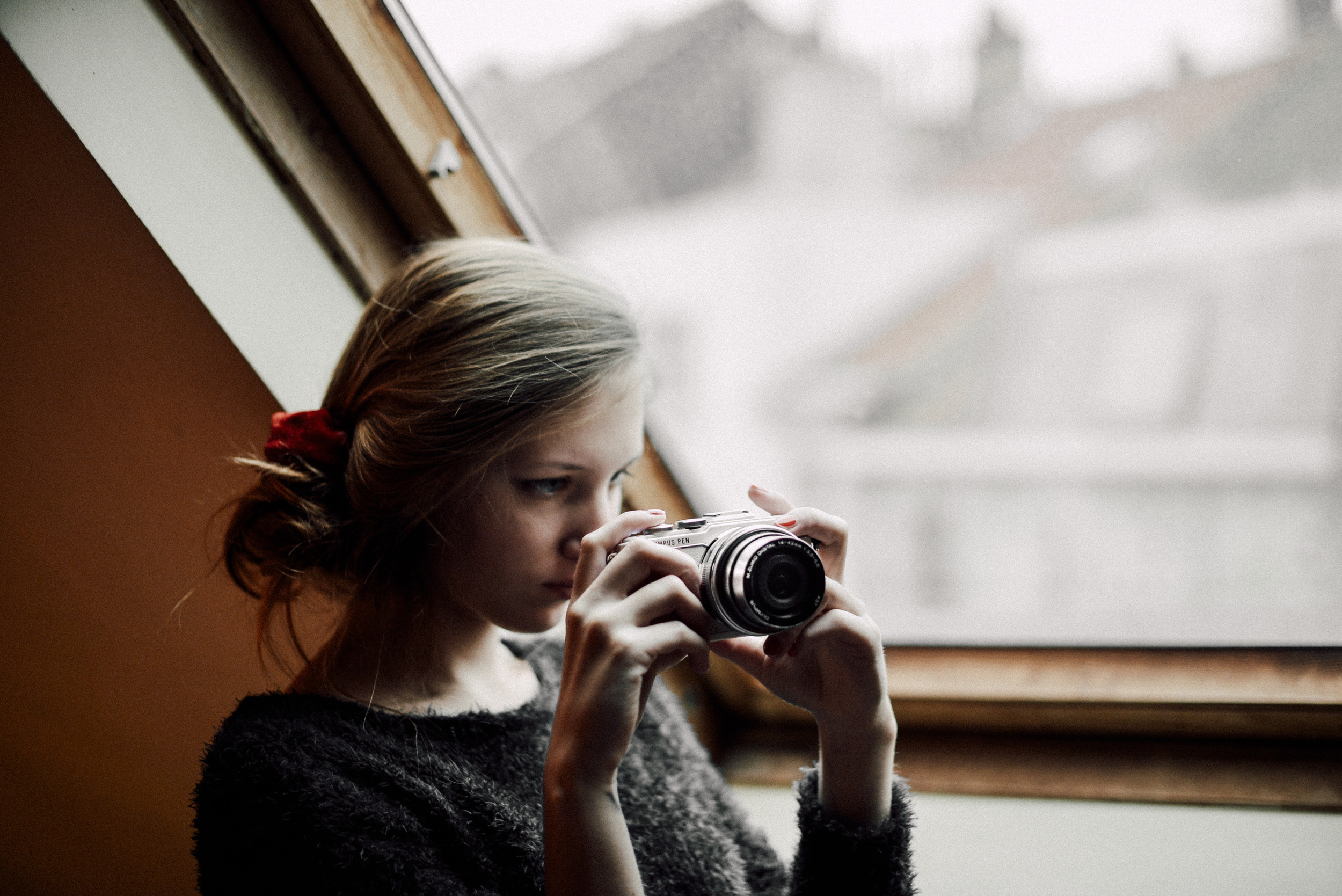 Olympus Pen EPL-7 fashion blogger review