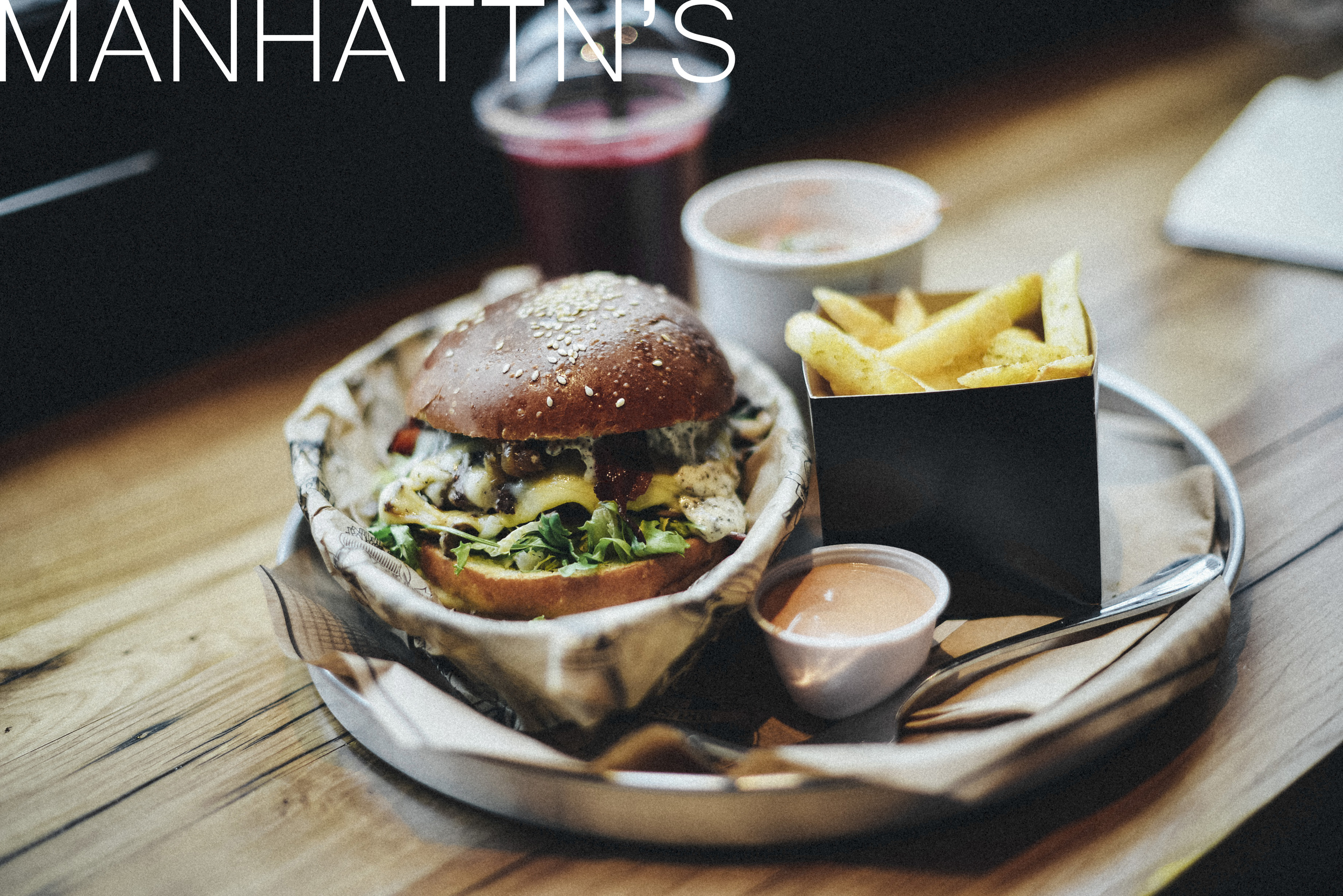 manhattn's burger brussels best lunch food and drink louise american