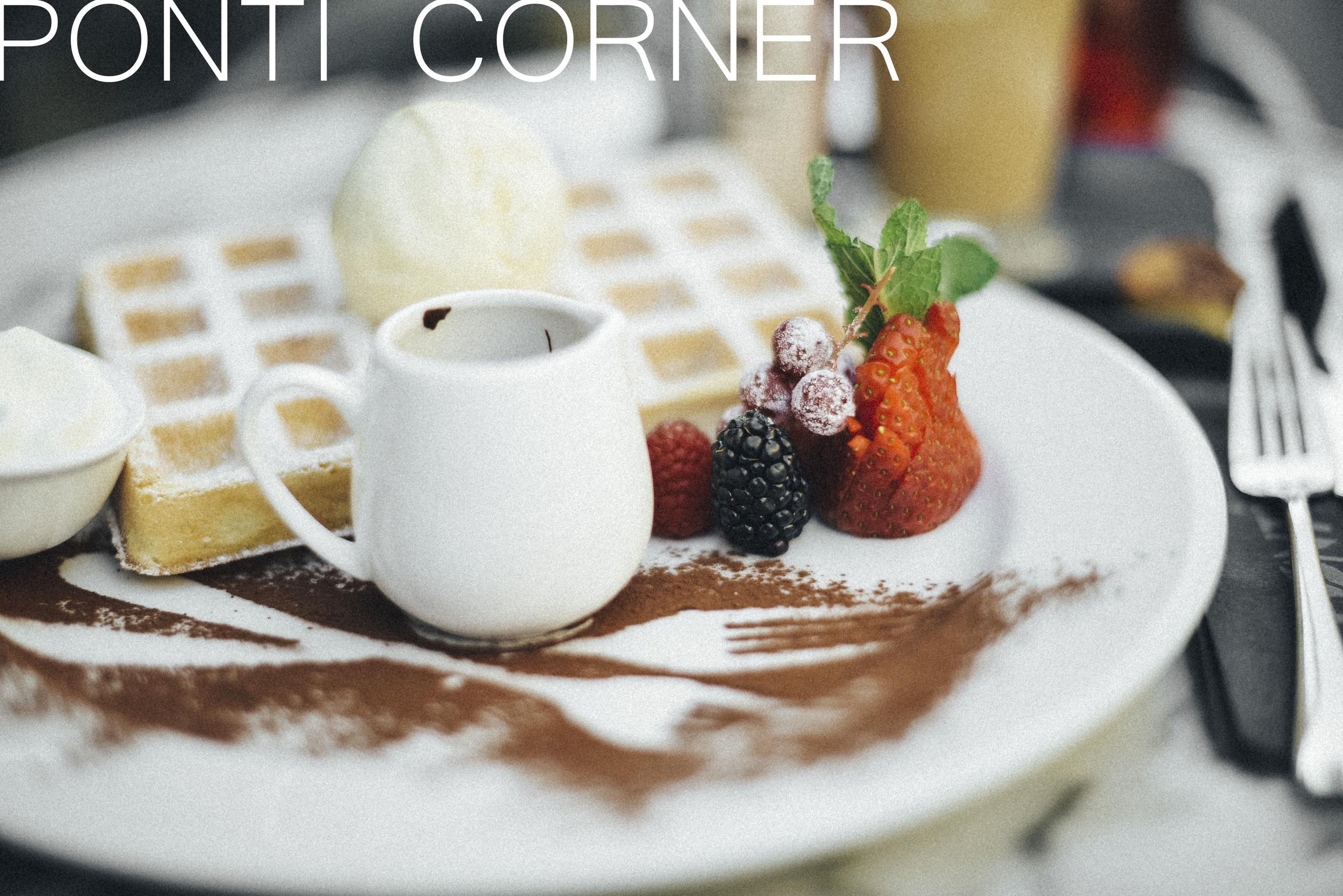 Ponti Corner Brussels spots Beglium best places food drink coffee