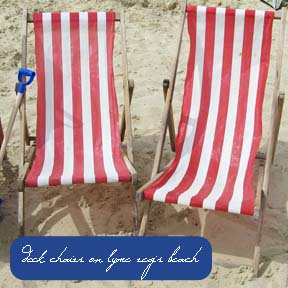 These classic striped deck chairs were found on Lyme Regis beach too. There was lots of inspiration to be found there during Regatta week. A full programme of events going on throughout the week were scheduled and on the day we went, there were games and singing on the beach for children, an egg catching event for all to join in at the end of the day and local bands performing in the evening. Of course the weather really made it, as we had blue skies and sunshine for most of the day with the obligatory shower at around 2pm - well it wouldn't be England if that didn't happen! Lyme Regis is well worth a visit during Regatta week and at any time, for that matter. Most of the photos above and some on my colour mood boards were taken there, so it really did provided lots of arty inspiration for definitely colour & perhaps, some new - seaside illustrations? - watch this space!