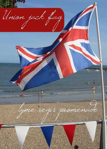 Coastal Classics - Classic British colour palette - red, white & blue, typifying the traditional British Seaside resort and we love it.