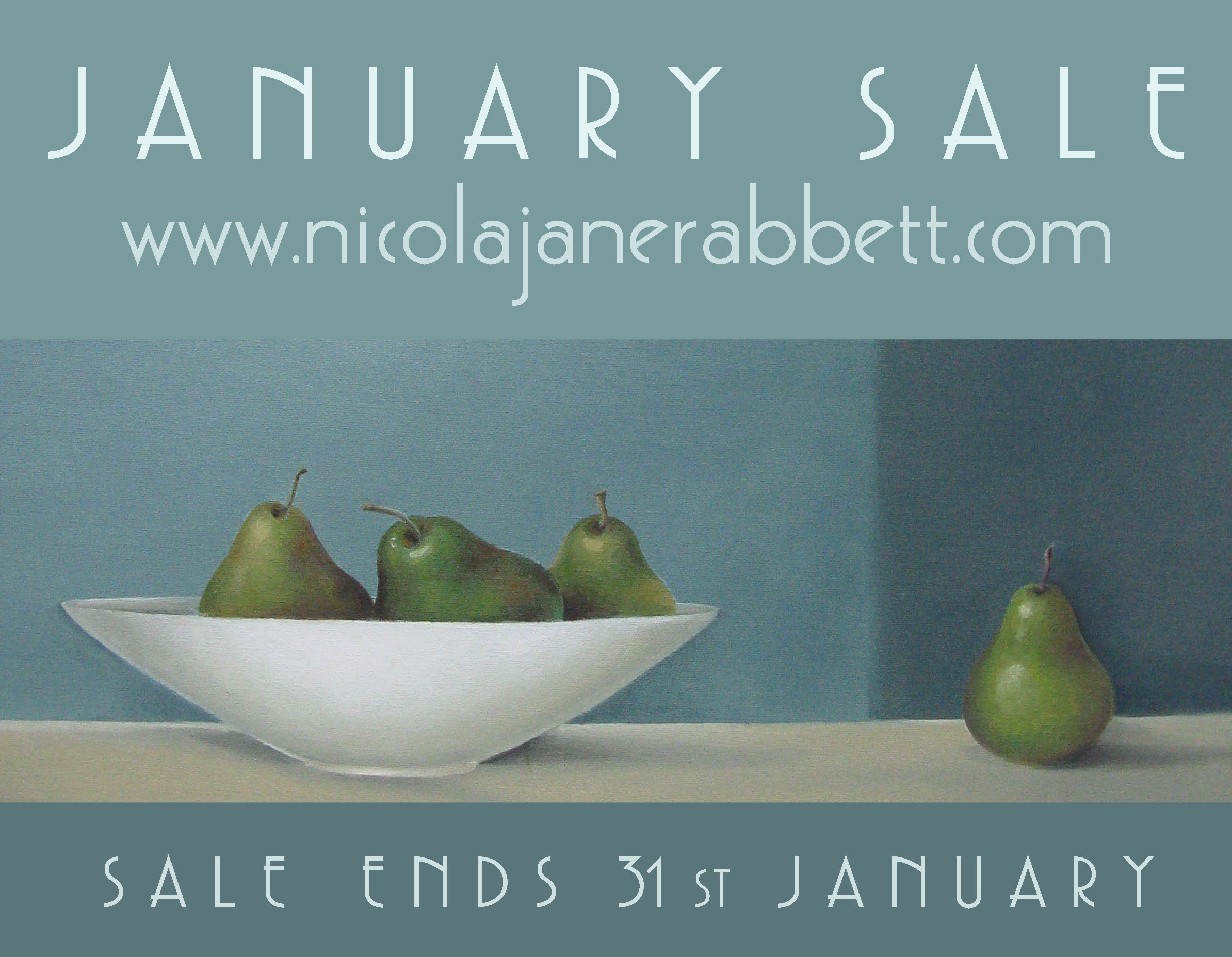 Head on over to the store for the January sale. Paintings, textiles, ceramics and illustrations are all included in the sale. Plus there's an extra 10% off, site wide. Apply: JAN31 at checkout. Click on the image above to take you straight to the store.