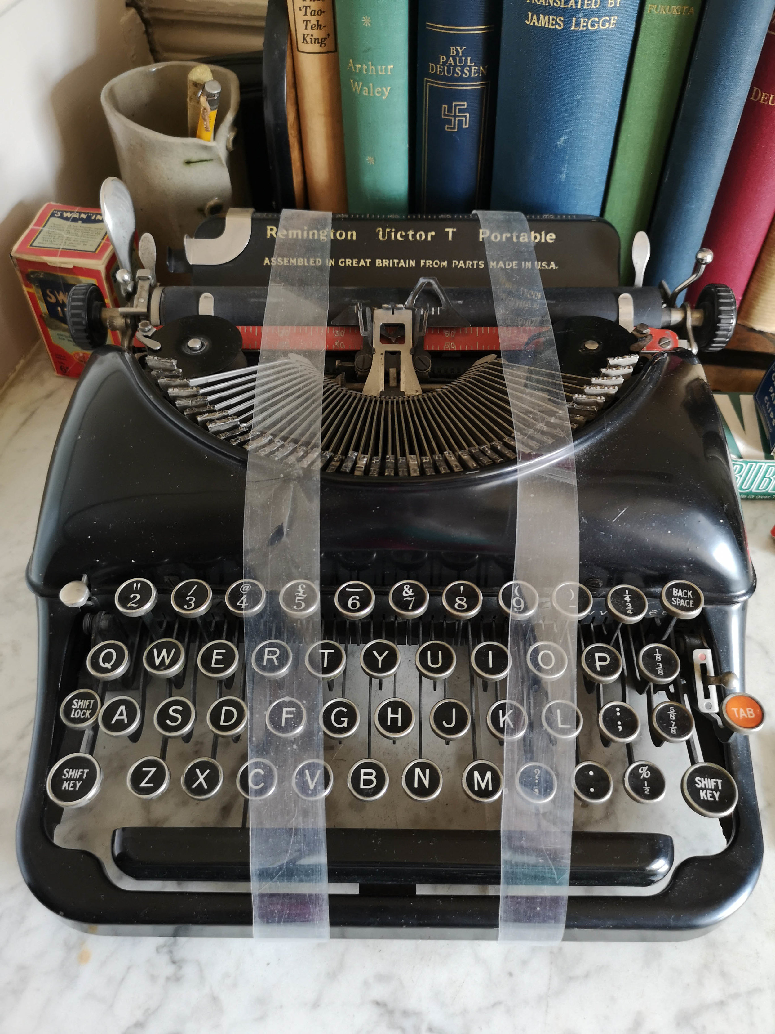 Agatha Christies Typewriter