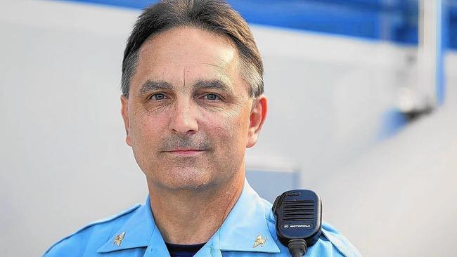Howard Police Chief Gary Gardner