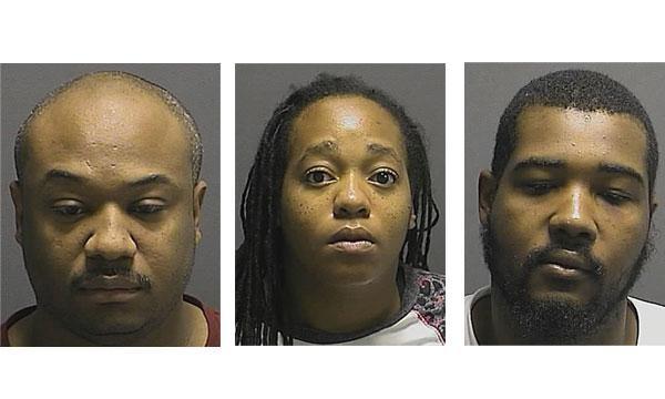 Donald M. Williams (left), Tiffany N. Lowery (middle), Rashon T. Pratt (right)Howard County Police Department