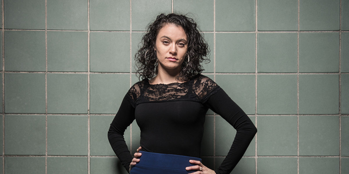 """Trafficking survivor and advocate Withelma """"T"""" Ortiz Walker Pettigrew. -Photography by Mike Morgan"""