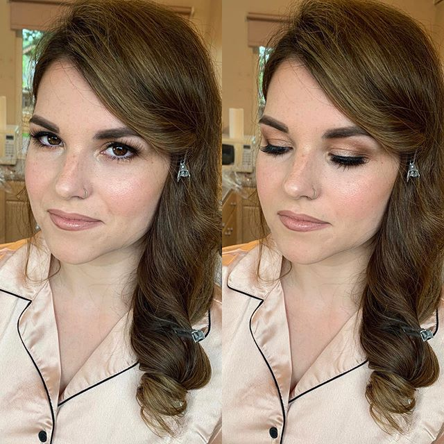 Had the pleasure of doing this beauty's makeup yesterday . We used @ctilburymakeup 'Iconic nude' lipliner and @nyxcosmetics_uk 'Satin ribbon' lip suede @crowhurstparkweddings  Hair by @starsbexhill