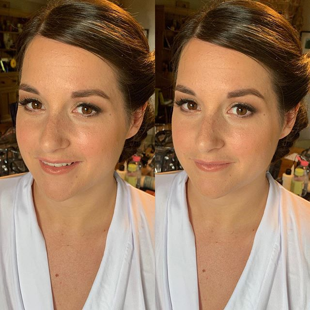 Charlotte ✨ A natural beauty who just wanted her makeup to be enhancing as she isn't used to wearing a lot.  Her skin was a complete dream. Using @bobbibrown face base @maccosmeticsuk strobe cream and @narsissist creamy concealer.