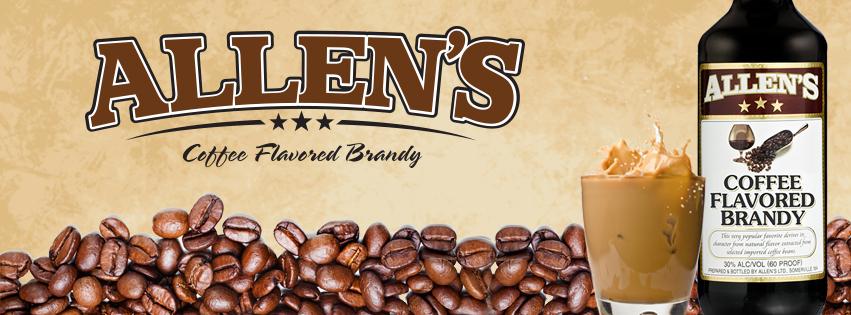 allen's coffee flavored brandy