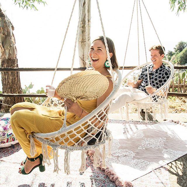 Getting into the swing of things #allthefun #destinationwedding #italianwedding #laughter #sunnydays #capovaticano #calabria #abracalabria