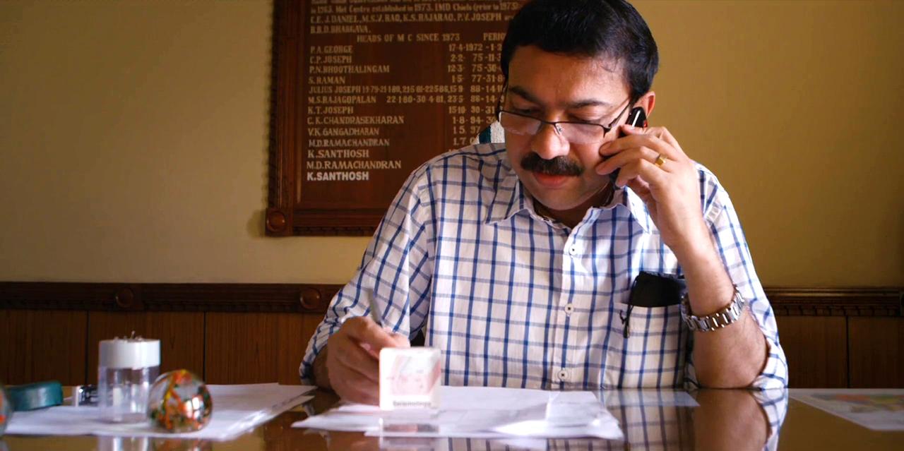Shri K. Santosh  – Director of Indian Meteorology Department's (IMD) Trivindrum Observatory