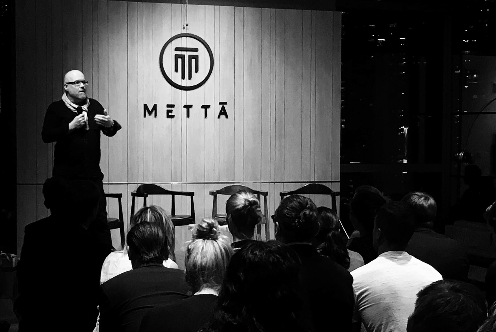 Delivering the keynote on behalf of Boris Design Studio at Metta Hong Kong during Business of Design Week. Photo by  Vicky Lo  ⇢