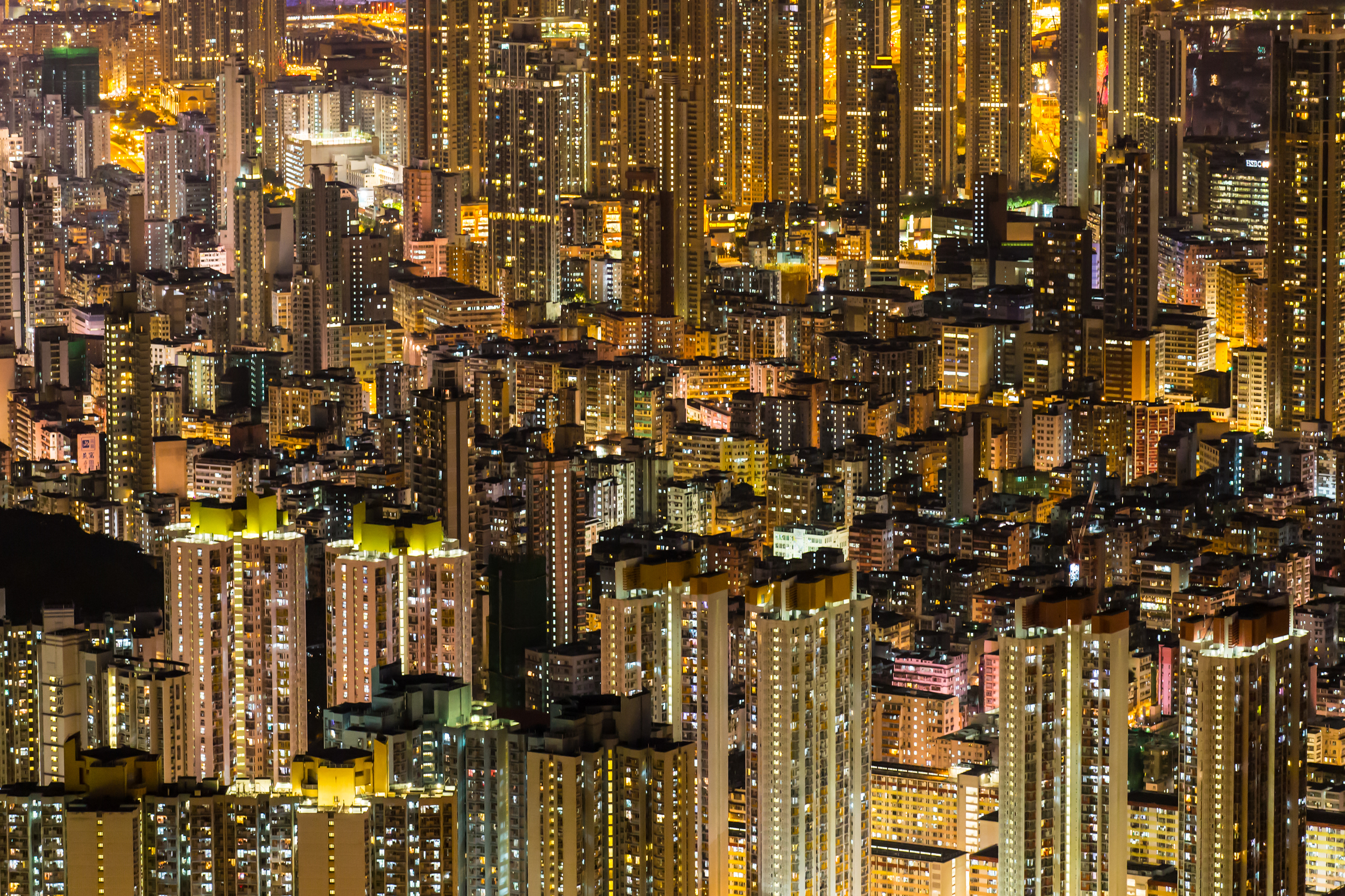"""""""Magic Eye""""   National Geographic - """"Photo of the Day""""   20.07.2014 National Geographic International Website   http://photography.nationalgeographic.com/photography/photo-of-the-day/architecture-night-hong-kong/"""