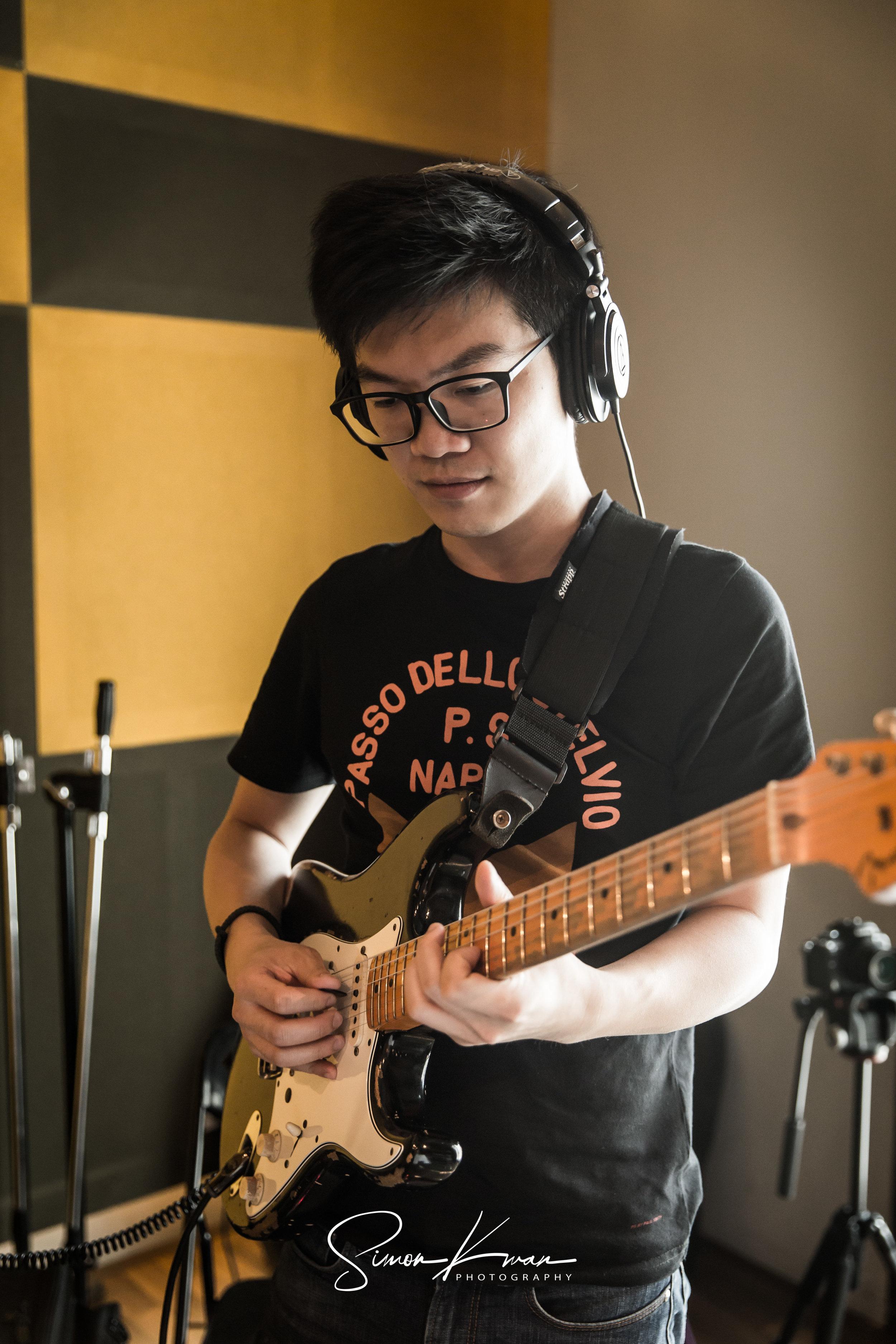 Album Recording Session - Q2 Studio, Hong Kong18th Octobert, 2017