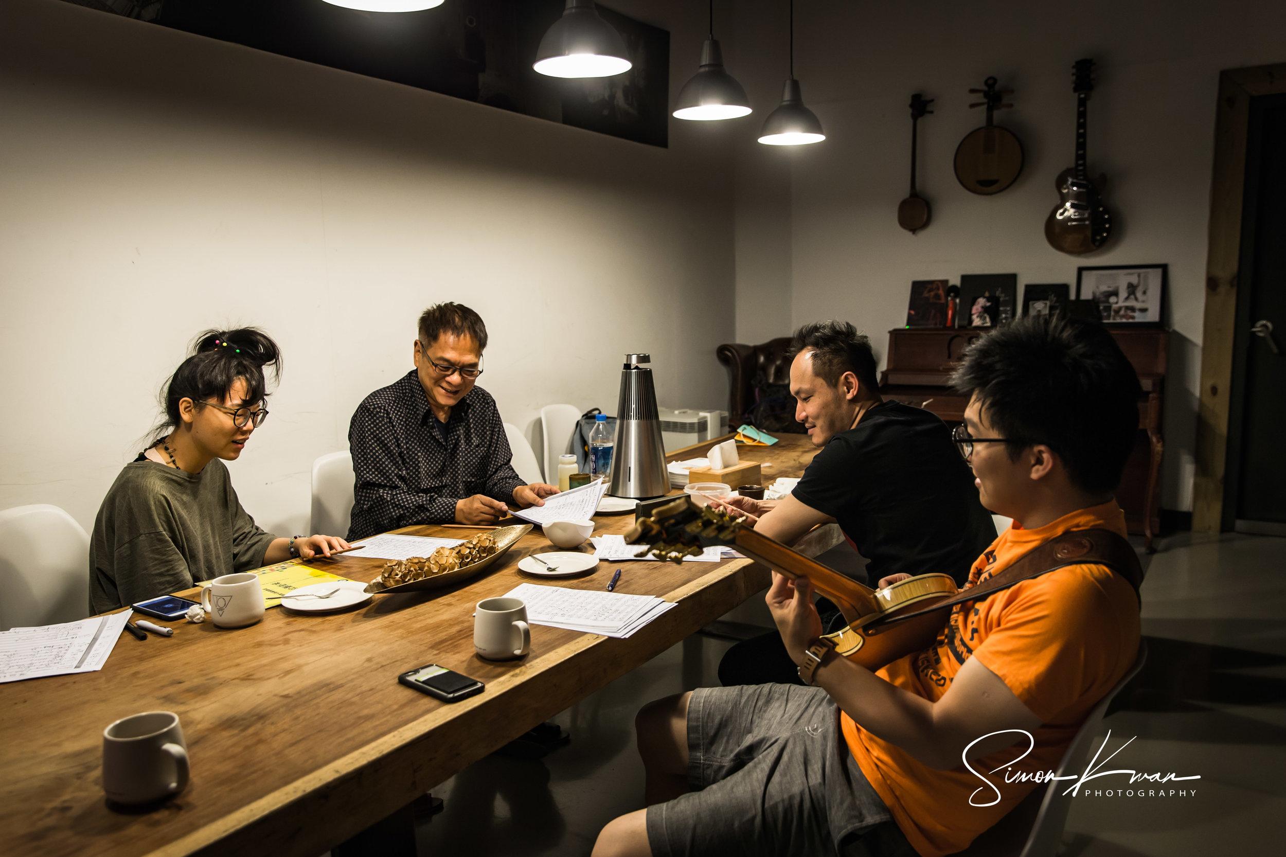 Album Recording Session Day 1 - Nine Tai Studio, Taipei22nd July, 2018