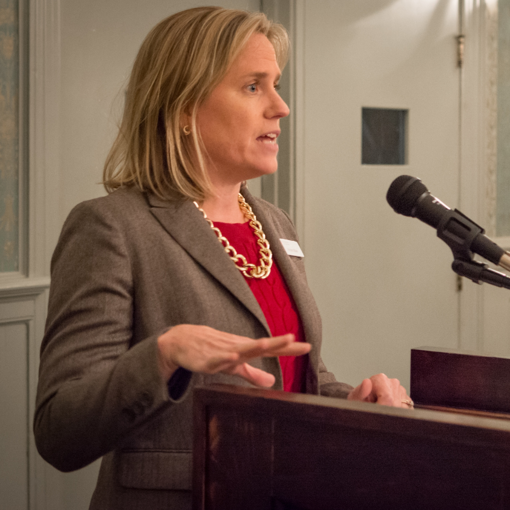 Kristen Miale - President of the Good Shepherd Food Bank