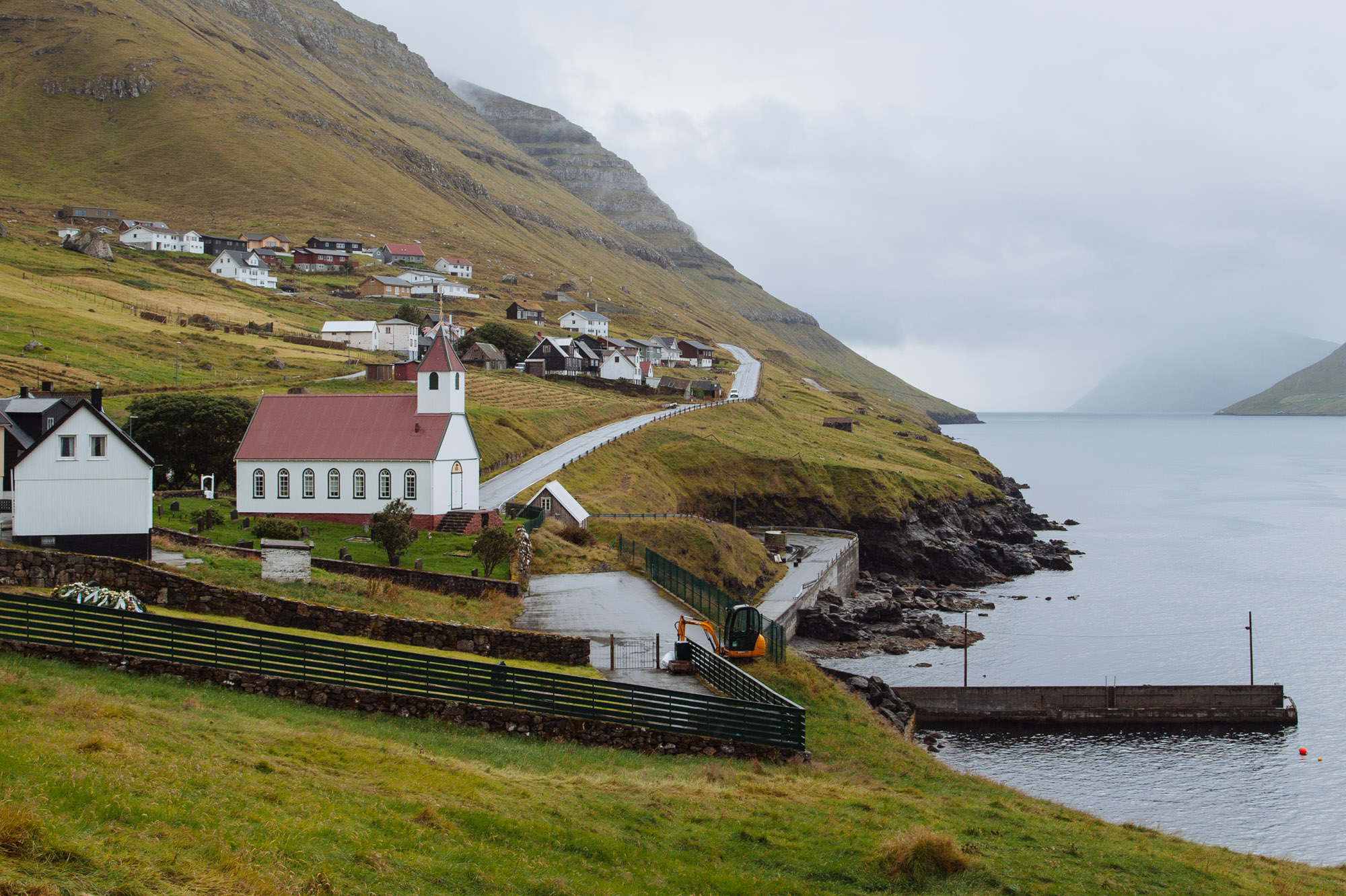 The Faroe Islands have built an intricate network of 22 tunnels through the mountains and under the sea to connect most of the villages.