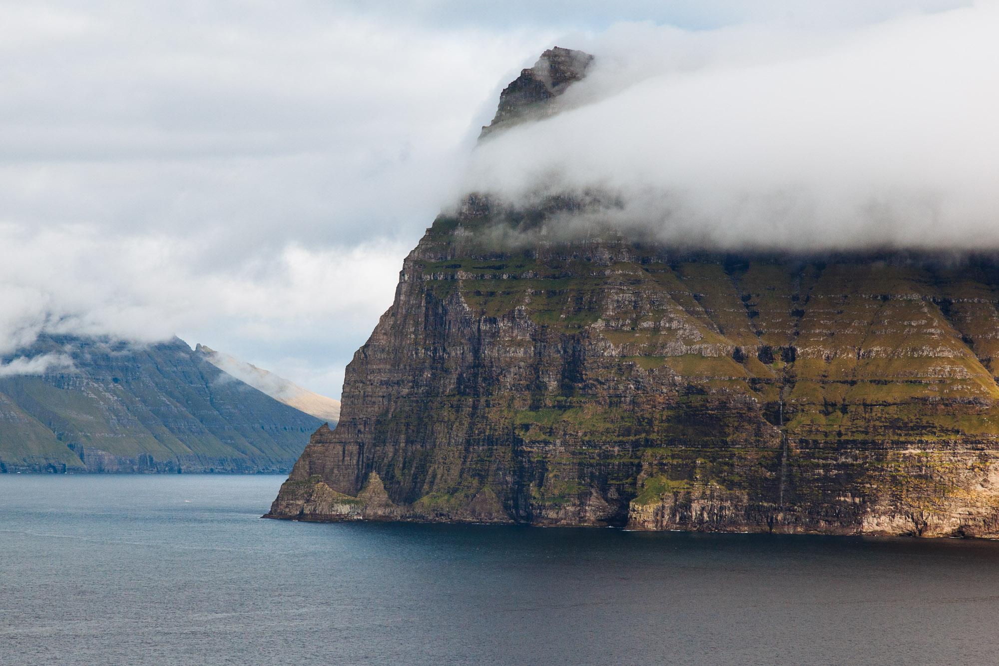 The cliffs of Kunoy