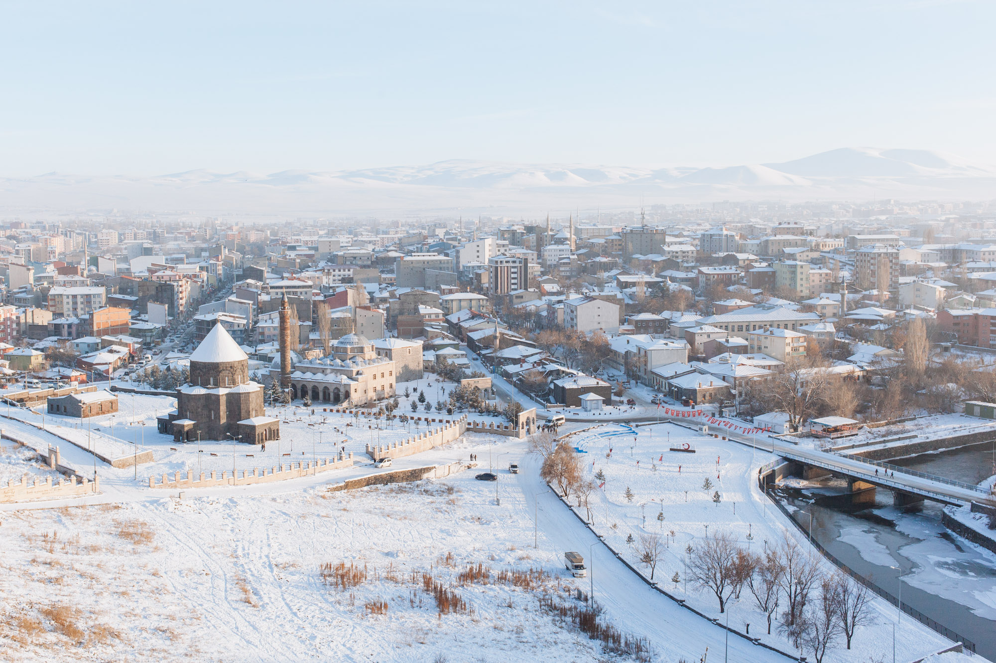 The city of Kars.