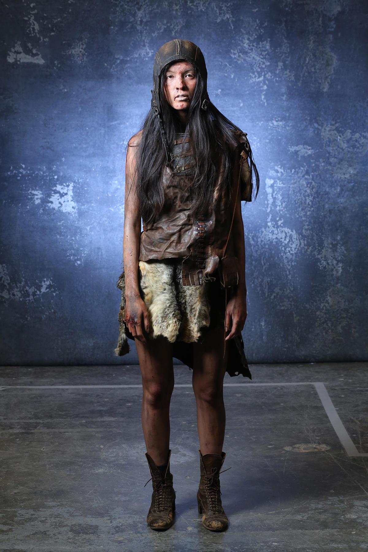 Syfy Face Off Model Gauntlet Isabelle Du