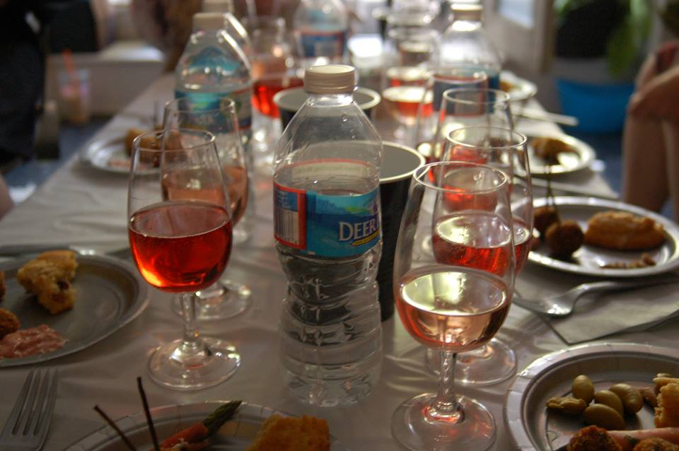 Rosé wine tasting: Perfect in the summer!