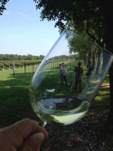 Video shoot at  Karamoor Estate Winery .