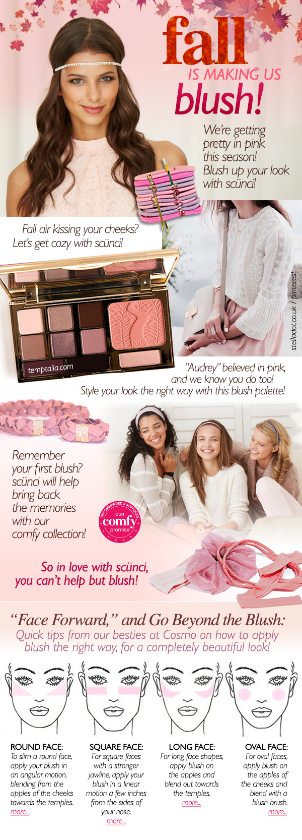 Fall Blush Campaign