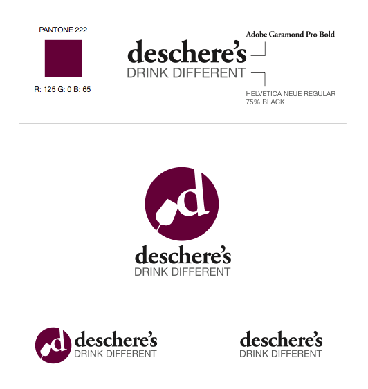 Logo Design, Deschere's